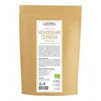 ZoyaBG - Био конопени семена - белени 250г