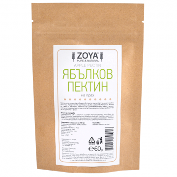 ZoyaBG - Ябълков пектин на прах 60г