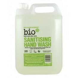 Bio-D - Течен сапун за ръце с алое и лайм 5л